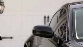 Luxury car stock footage