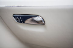 Luxury car glove compartment Royalty Free Stock Photos