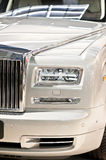 Luxury car head Royalty Free Stock Photography