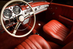 Luxury Car Interior Stock Image