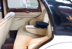Luxury car interior Stock Photography