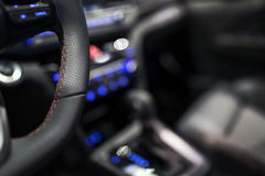 Luxury car interior Royalty Free Stock Image
