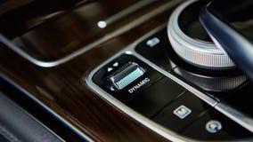 Luxury car interior details Royalty Free Stock Photo