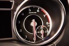 Luxury car interior details Stock Images