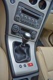 Luxury car interior Stock Photography