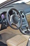 Luxury car interior Royalty Free Stock Image