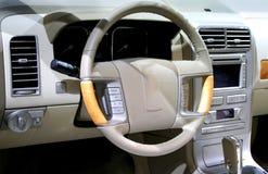 Luxury Car Interiors Royalty Free Stock Photography