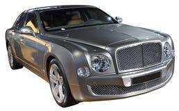 Luxury car isolated. British luxury car isolated on white Royalty Free Stock Images