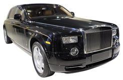 Luxury car isolated. British luxury car isolated on white Royalty Free Stock Photos