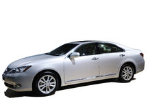 Luxury  car Lexus es 240. Luxury  silver car,Lexus es 240 Stock Image