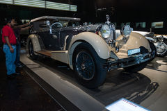 Luxury car Mercedes-Benz Typ SS (Super Sport), 1930 Royalty Free Stock Photo