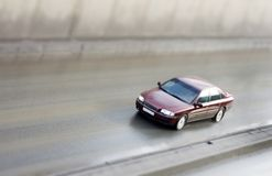 luxury car - model toy car Royalty Free Stock Images