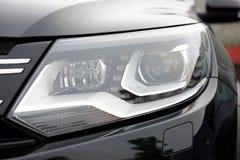 Luxury car rear light- closeup view Stock Photo