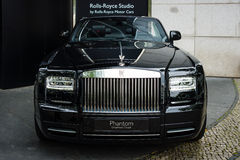 Luxury car Rolls-Royce Phantom Drophead Coupe (since 2007) Royalty Free Stock Photo