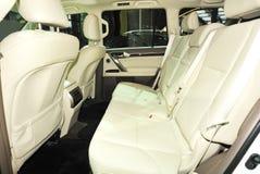 Luxury car seats Stock Image