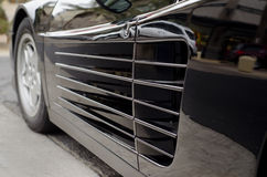 Luxury car sports car detail Stock Images
