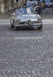 Luxury car at the start of the Nuvolari Grand Prix Stock Photos