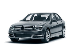 Luxury car in the studio Royalty Free Stock Images
