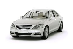 Luxury car in the studio Royalty Free Stock Image