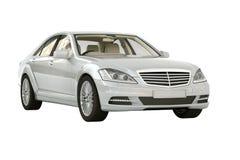Luxury car in the studio Royalty Free Stock Photos