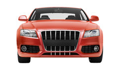 Luxury car in the studio Stock Photo