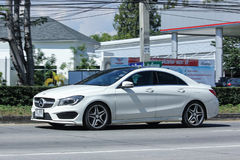 Luxury car, White Mercedes Benz CLA 180 Untamed Stock Images
