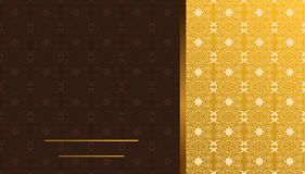 Luxury card or invitation Stock Photos