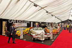 Luxury Cars Auto Show Stock Images