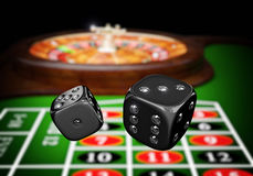 Luxury casino game Stock Photo
