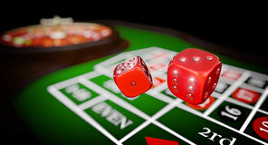 Luxury casino game Royalty Free Stock Image