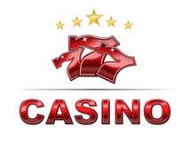 Luxury Casino logo stock illustration