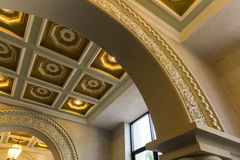 Luxury ceiling. In abac universiry thailand Royalty Free Stock Photos