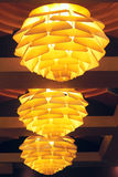 Luxury ceiling lamp Royalty Free Stock Images
