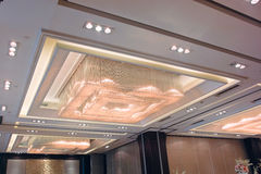 Luxury ceiling Stock Photos