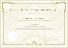 Luxury certificate template with elegant border frame diploma d luxury certificate template with elegant border frame diploma d stock photography yelopaper Image collections