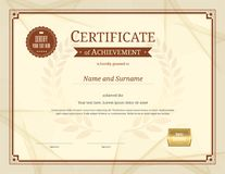 Luxury certificate template with elegant border frame diploma d luxury certificate template with elegant border frame diploma d stock photography yelopaper Choice Image