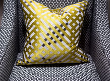 Luxury Chair and Cushion Stock Photography