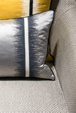 Luxury Chair and Cushion Stock Photo
