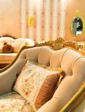 Luxury chair in fashion interior Royalty Free Stock Photography
