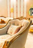 Luxury chair in fashion interior Stock Image
