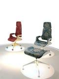 Luxury chairs stock photos