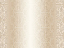 Luxury champagne background with ornament pattern Royalty Free Stock Photography