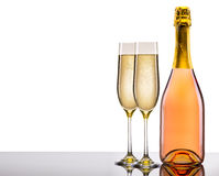 Luxury champagne background Royalty Free Stock Images