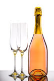 Luxury champagne background Royalty Free Stock Photos