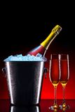 Luxury champagne background Royalty Free Stock Photography