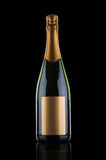 Luxury champagne bottle Stock Photography