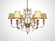 Luxury Chandelier Stock Photo