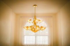 Luxury Chandelier Stock Photo