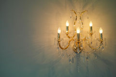 Luxury chandelier Stock Photos
