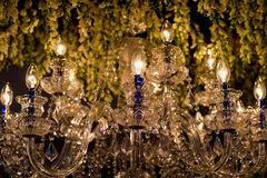 Luxury Chandelier Light royalty free stock photos